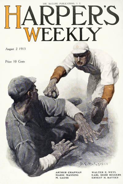 Photograph - Baseball, 1913 by Granger