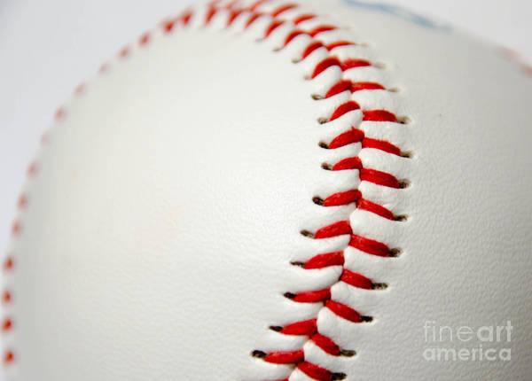 Photograph - Baseball by Andrea Anderegg