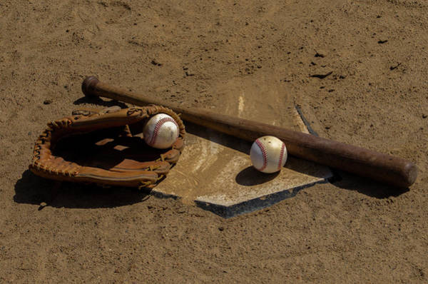 Photograph - Baseball Game by Bill Cannon