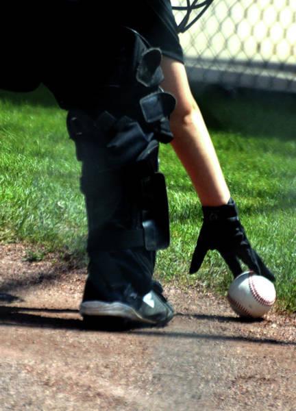 Photograph - Baseball Greeting Card 5x7 by Lesa Fine