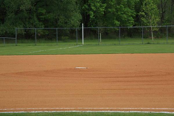 Wall Art - Photograph - Baseball Infield by Frank Romeo
