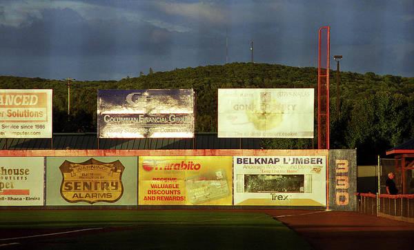 Wall Art - Photograph - Baseball Sunset 2005 by Frank Romeo