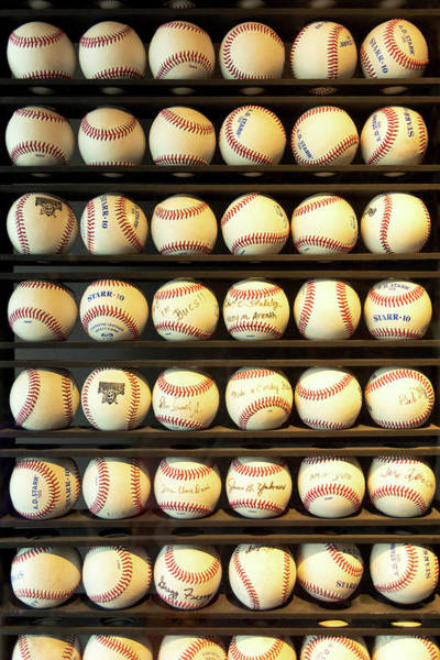 Wall Art - Photograph - Baseball - You Have Got Some Balls There by Mike Savad