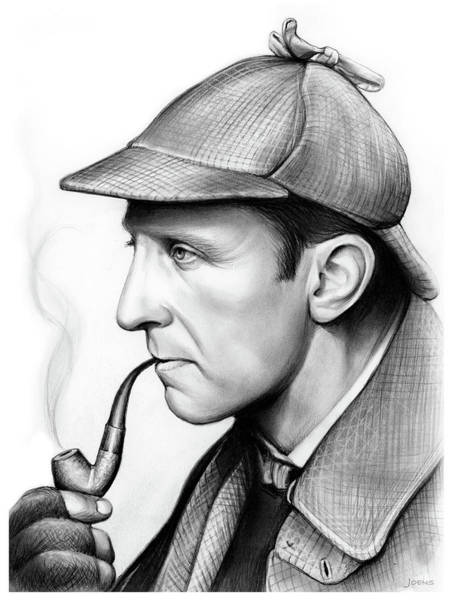 Movie Drawing - Peter Cushing by Greg Joens