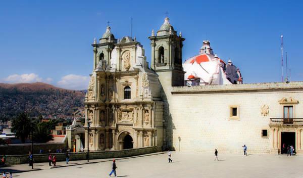 Photograph - Basilica De La Soledad Oaxaco by Lee Santa