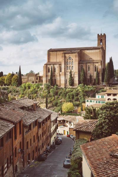 Photograph - Basilica Di San Domenico , Siena, Tuscany, Italy by Alexandre Rotenberg