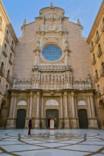 Photograph - Basilica In Montserrat by Joan Carroll