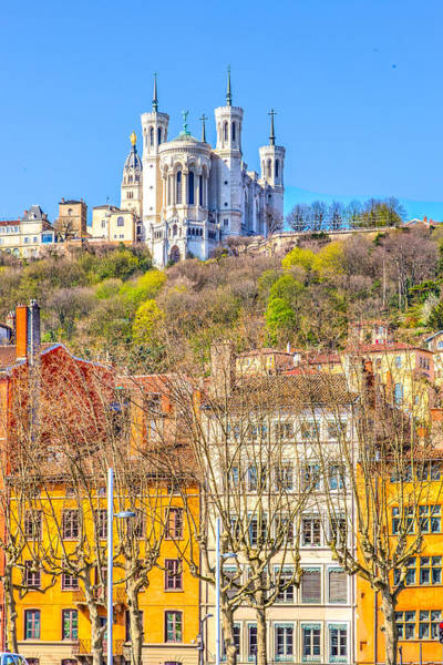 Rhone River Photograph - Basilica Of Notre-dame De Fourviere by W Chris Fooshee