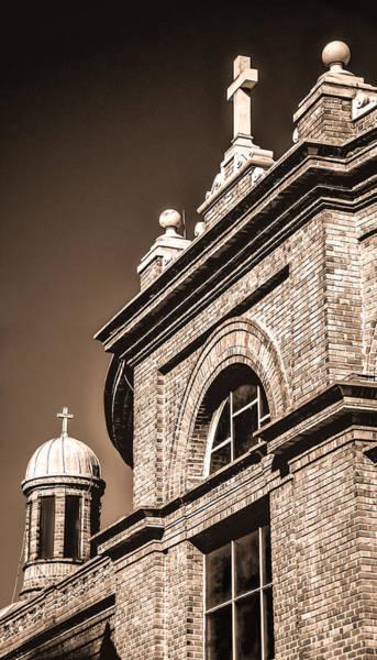 Photograph - Basilica Of Saint Lawrence - Sepia by Joye Ardyn Durham