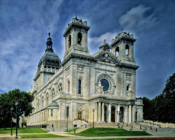 Photograph - Basilica Of Saint Mary Minneapolis Minnesota  by Movie Poster Prints