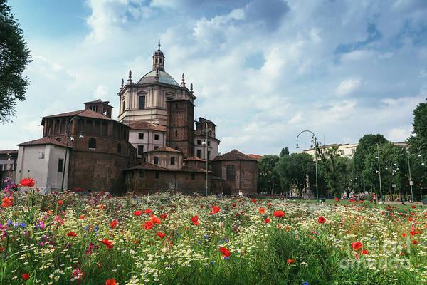 Photograph - Basilica Of San Lorenzo Maggiore by Alexandre Rotenberg