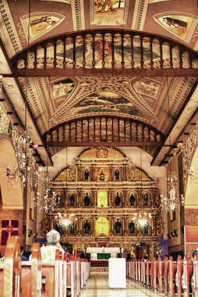 Photograph - Basilica Of Santo Nino by James BO Insogna