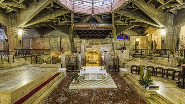 Grottos Photograph - Basilica Of The Annunciation - Nazareth by Stephen Stookey