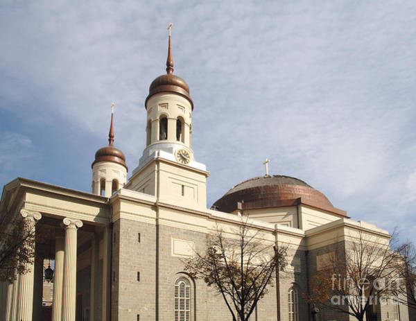 Photograph - Basilica Of The Assumption In Baltimore by William Kuta