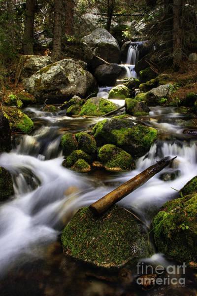 Photograph - Basin Fall River by Craig J Satterlee