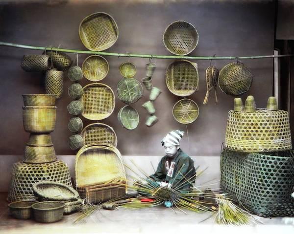 Photograph - Basket Maker by John Feiser