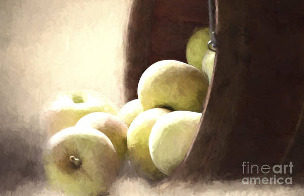 Basket Of Apples Art Print