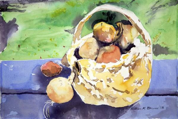 Basket Of Fruit Art Print