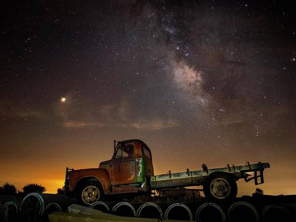 Photograph - Basking Under The Stars by Harriet Feagin
