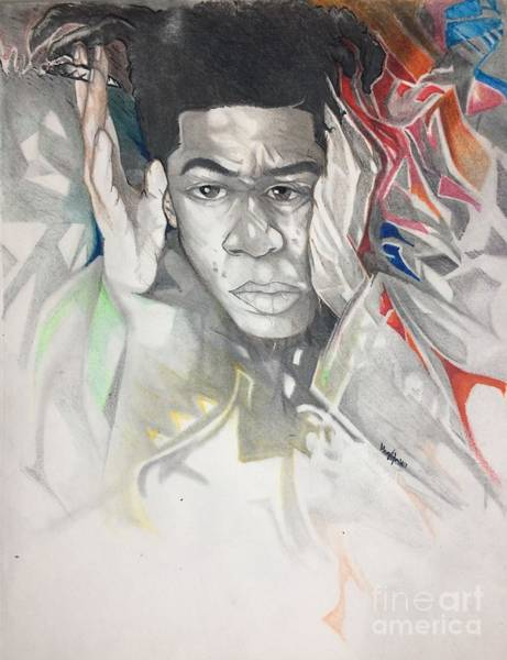 Dope Mixed Media - Basquiat 2 by Gregory Taylor