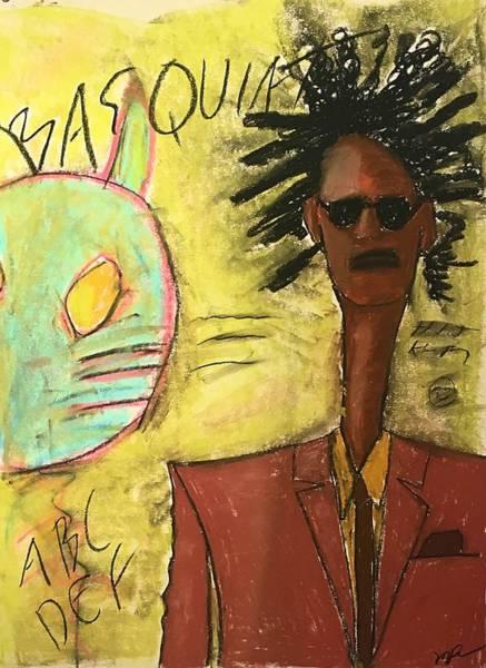 Pastel - Basquiat by Mario MJ Perron