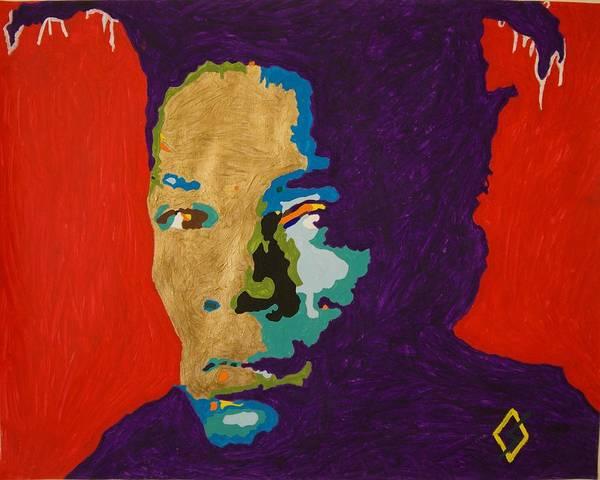 Wall Art - Painting - Basquiat by Stormm Bradshaw