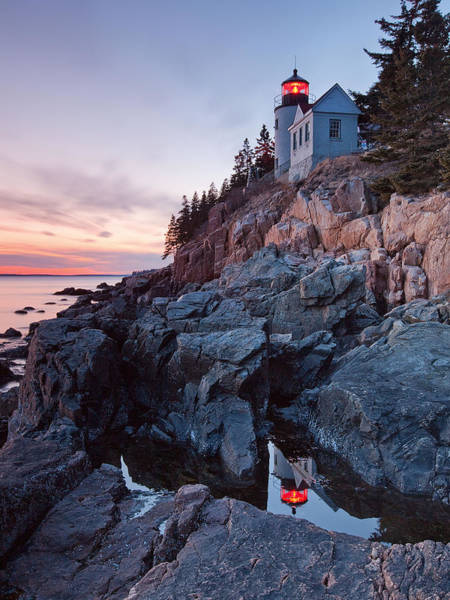 Wall Art - Photograph - Bass Harbor Head Light by Patrick Downey