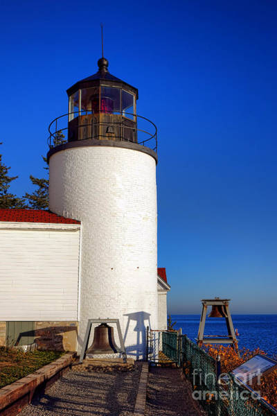 Wall Art - Photograph - Bass Harbor Head Lighthouse by Olivier Le Queinec