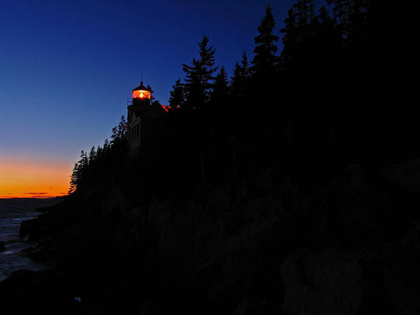 Photograph - Bass Harbor Light by Juergen Roth