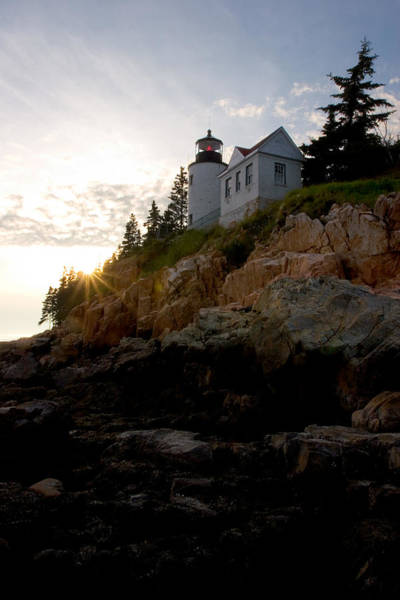 Wall Art - Photograph - Bass Harbor Lighthouse 1 by Brent L Ander
