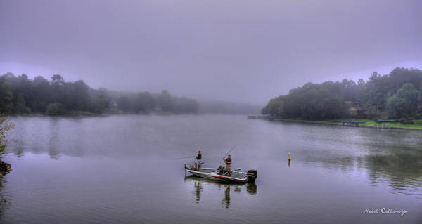 Photograph - Bass Masters Lake Oconee Fishing Art by Reid Callaway