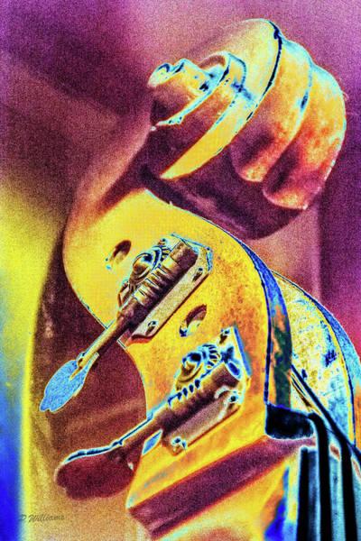 Play Music Digital Art - Bass by Pamela Williams