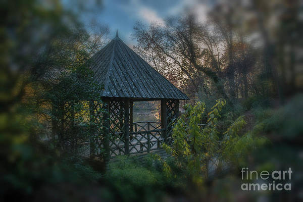 Photograph - Bass Pond Boathouse Dreaming by Dale Powell