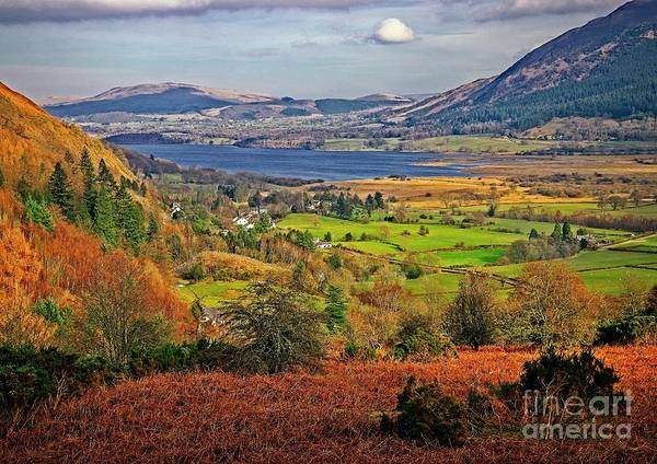 Photograph - Bassenthwaite Lake District View by Martyn Arnold