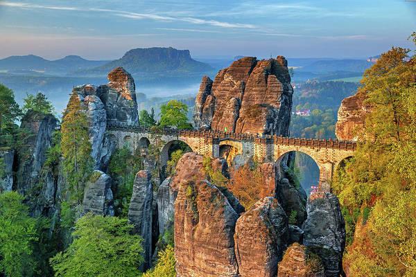 Photograph - Bastei Bridge by Movie Poster Prints