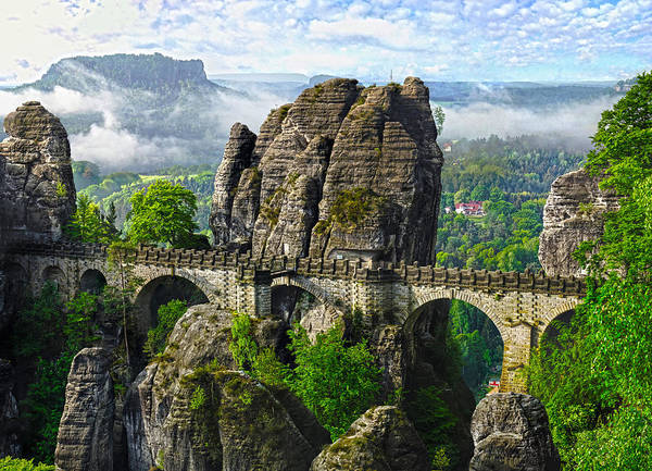 Photograph - Bastei Germany by Thomas M Pikolin