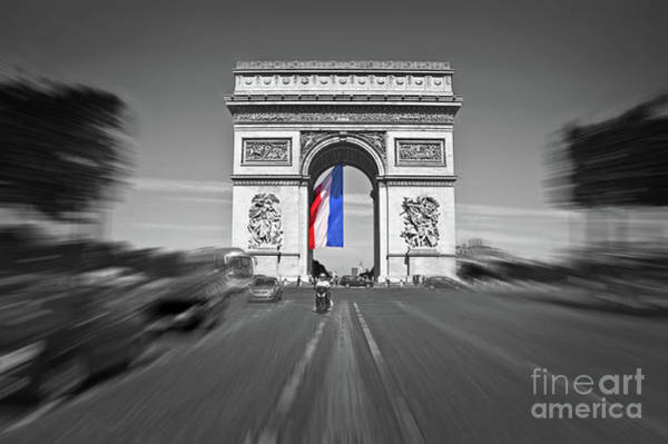 Wall Art - Photograph - Bastille Day by Delphimages Photo Creations