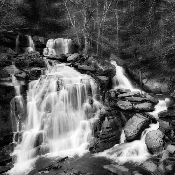 Catskills Photograph - Bastion Falls by Bill Wakeley