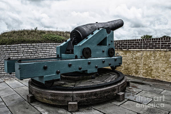 Photograph - Bastion Gun by Dale Powell
