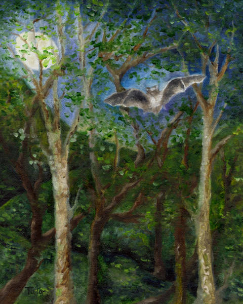 Painting - Bat Medicine by FT McKinstry