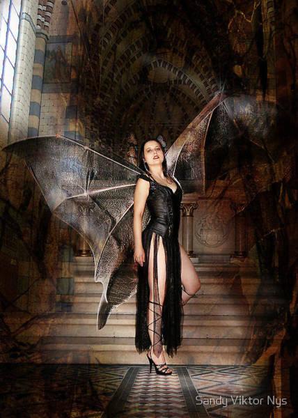 Wall Art - Photograph - Bat Woman by The Hybryds