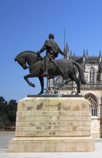 Photograph - Batalha Aljvbarrota 1385 Portugal by John Shiron