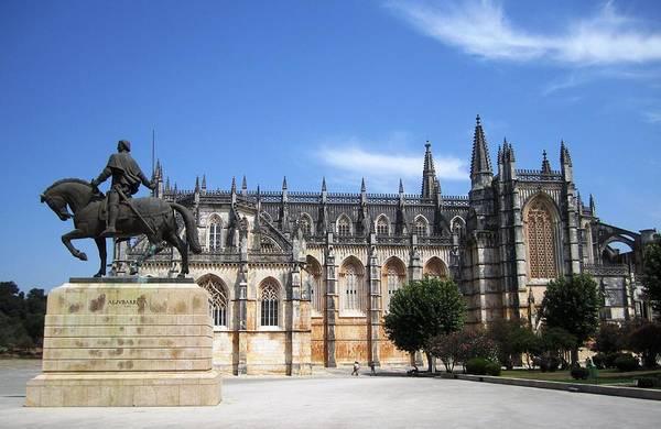 Photograph - Batalha Gothic Monastery II Portugal by John Shiron