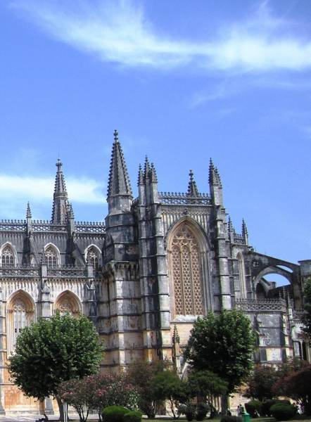 Photograph - Batalha Gothic Monastery IIi Portugal by John Shiron