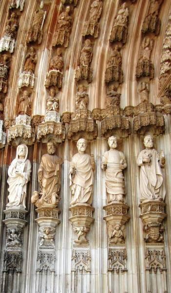 Photograph - Batalha Gothic Monastery Ix Portugal by John Shiron