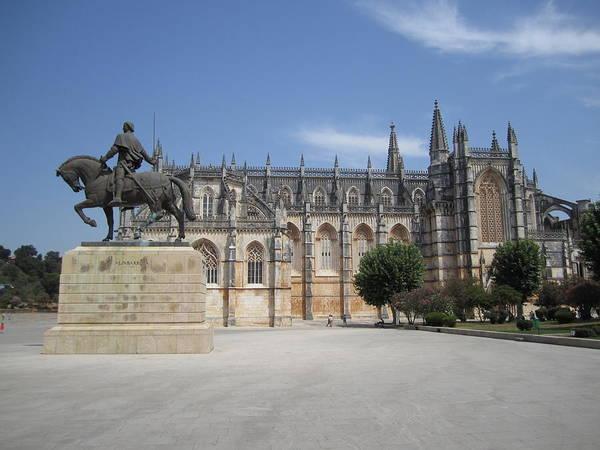 Photograph - Batalha Gothic Monastery Portugal by John Shiron