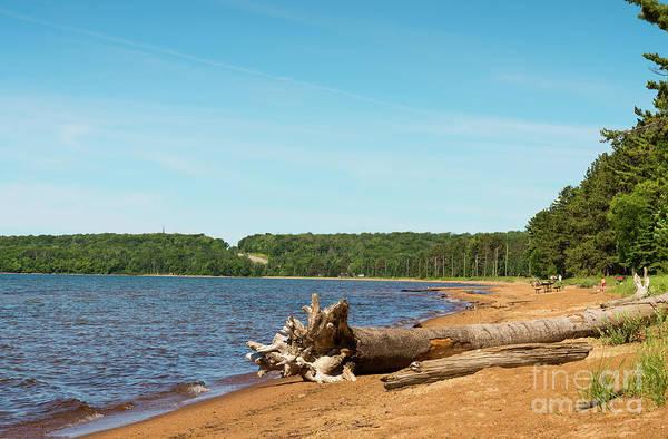 Photograph - Batchewana Provincial Park by Les Palenik