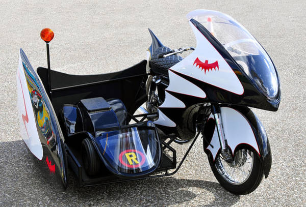 Comic Book Photograph - Batcycle by David Lee Thompson