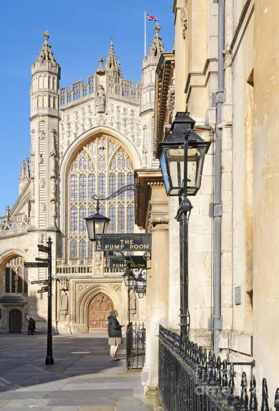 Photograph - Bath Abbey by Colin Rayner