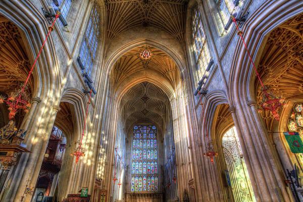 Wall Art - Photograph - Bath Abbey by David Pyatt
